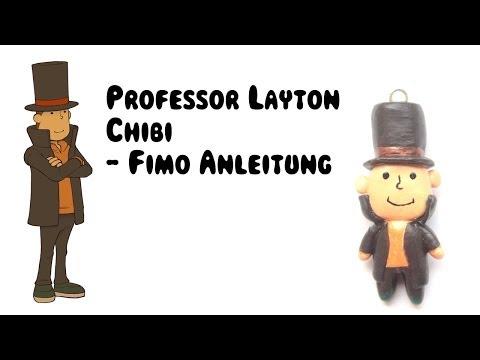 [Fimo] Professor Layton Chibi Fimo Anleitung | Anielas Fimo