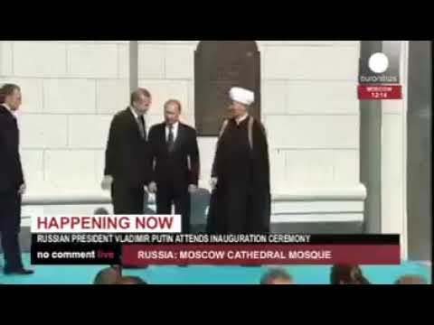 Church Converted to Mosque by Russian President Puttin