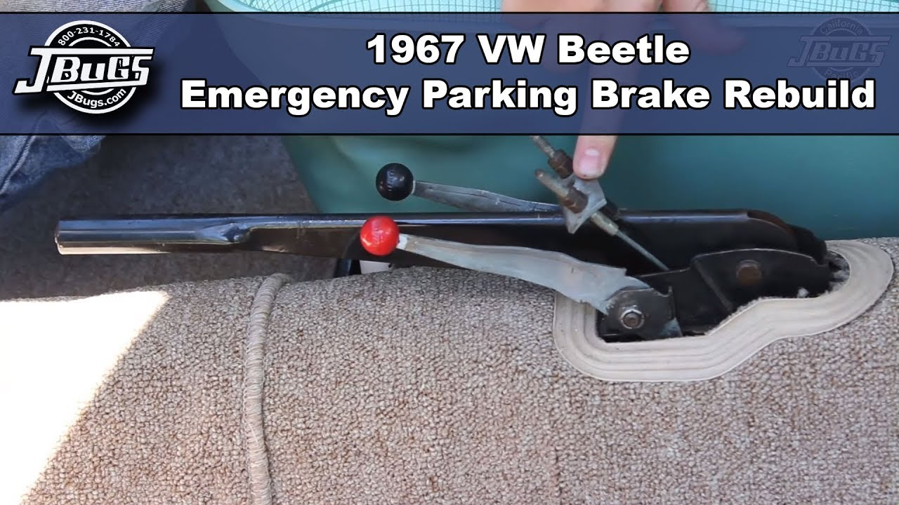 2001 vw golf parking brake [ 1280 x 720 Pixel ]