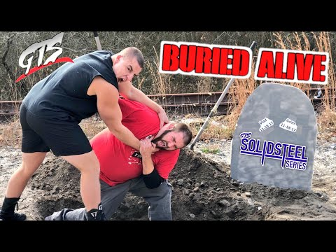 CRAZIEST BURIED ALIVE MATCH EVER! GRIM VS VLAD FOR YOUTUBE CHAMPIONSHIP!