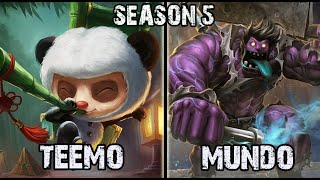 Best Teemo NA vs Dr Mundo TOP Ranked Challenger