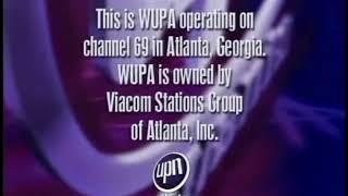 WUPA-TV 69 Atlanta sign off 5-1-2005
