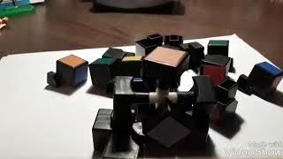 Как собрать разобранный кубик - рубик