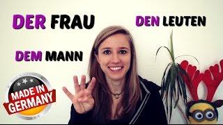 The DATIVE Part 1: Dem Mann, der Frau, etc.