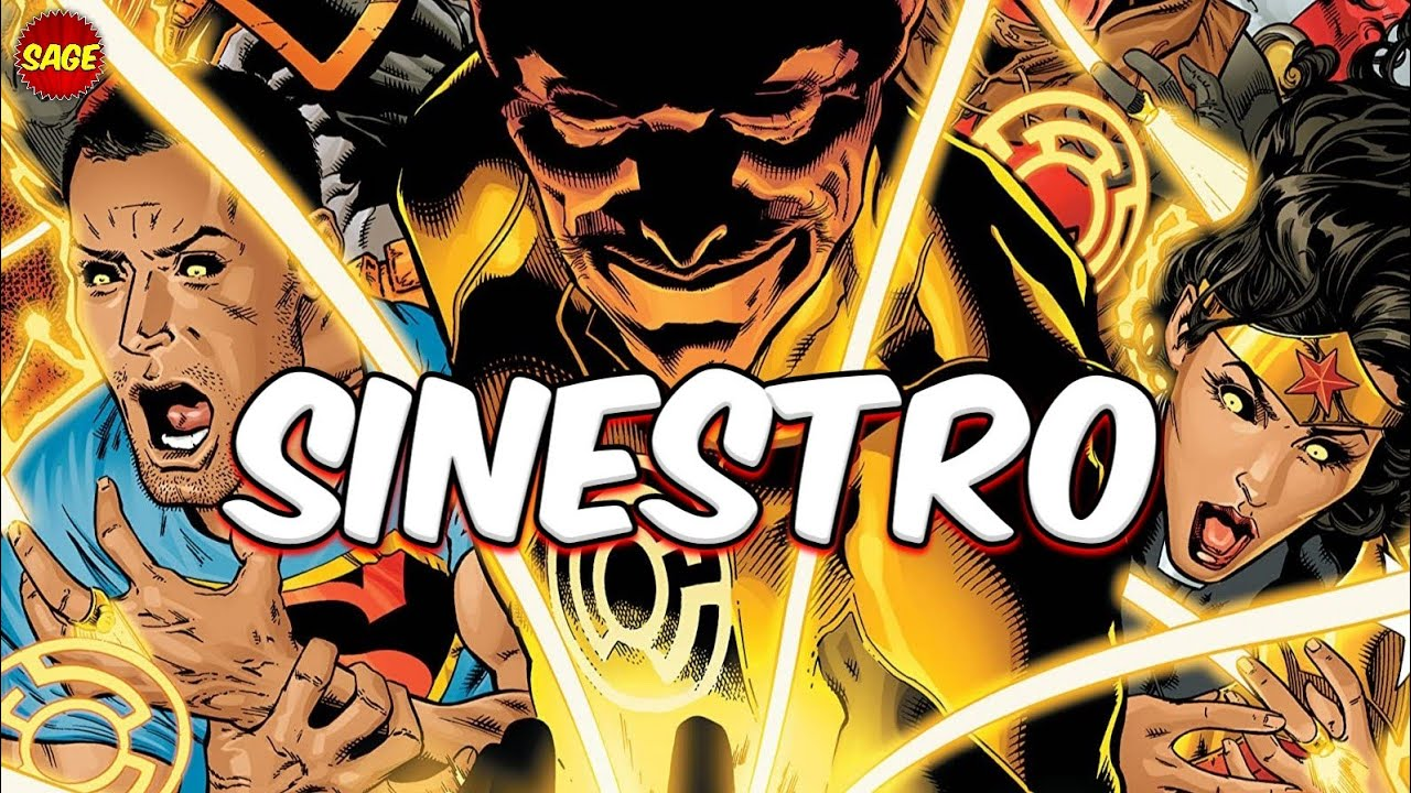 Who is DC Comics' Sinestro? Fear is a Powerful Thing