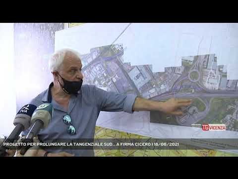 PROGETTO PER PROLUNGARE LA TANGENZIALE SUD... A FIRMA CICERO | 18/06/2021