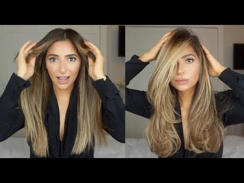 HOW TO FAKE A SALON BLOWOUT AT HOME | RAZ PELE