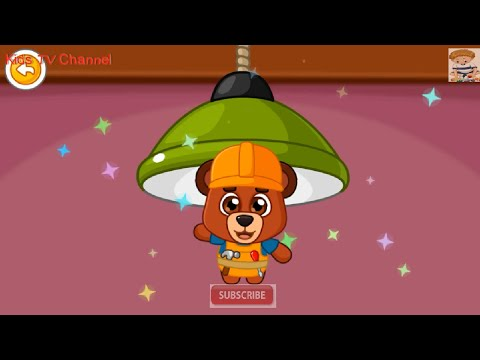 Repair Of The House (YOVO Games) | Repair Lamp, Door, Wall & Shelf | Smart Gammer | Kids TV Channel