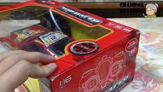 Unboxing Toys Review/demos - Part 1 Fast And Furious Remote Control Street Racing Drift Red Car