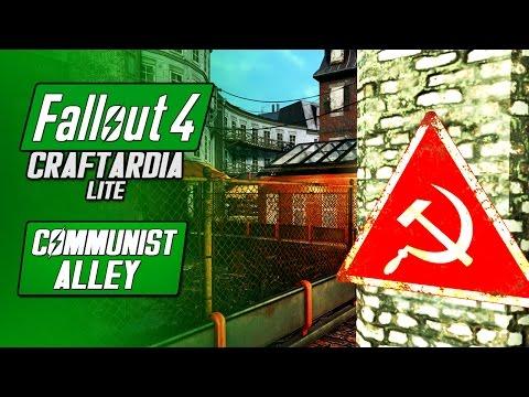 COMMUNIST ALLEY - Fallout 4 Hangman's Alley Settlement Build - Fallout 4 Craftardia Lite