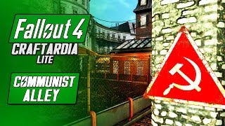 COMMUNIST ALLEY - Fallout 4 Hangman s Alley Settlement Build - Fallout 4 Craftardia Lite
