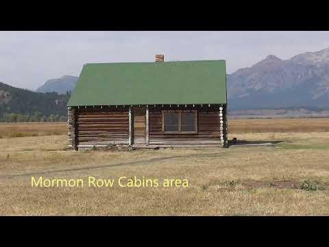 Grand Tetons Area Mormon Row & Cunningham Cabin