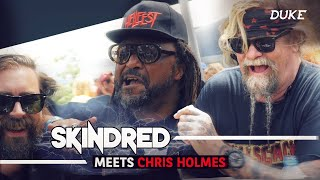 Skindred interviewed by Chris Holmes - Hellfest 2019 - Duke TV [FR-DE-ES-IT-RU Subs]