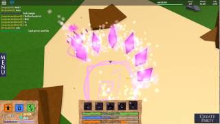 Roblox Elemental Battlegrounds NEW Crystal Element
