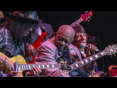 "B.B. King with Slash ""The Thrill Is Gone"". Amazing."