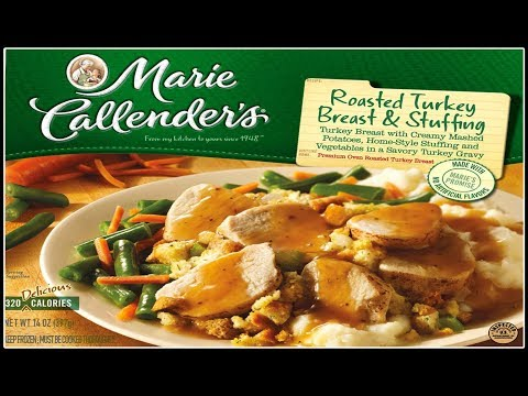 Budget Thanksgiving Dinner for ONE! $2.24 Oven Roasted Turkey & Stuffing Dinner The Wolfe Pit