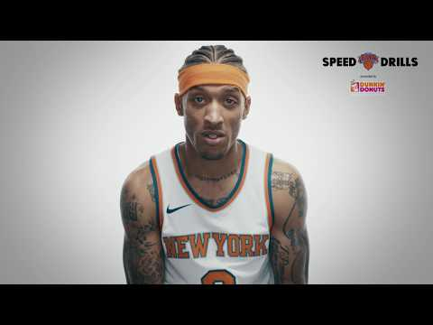 Knicks Speed Drills: Michael Beasley on traveling to space, off-court style and more!