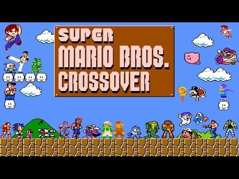 Super Mario Bros. Crossover (Longplay)