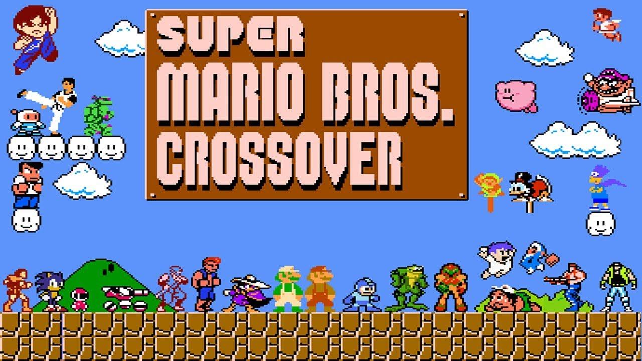 Super Mario Bros  Crossover (Longplay)