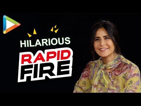 Katrina Kaif's mind-blowing RAPID FIRE on SRK, Anushka Sharma, Zero, Tiger Zinda Hai & more