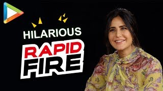 Katrina Kaif's mind-blowing RAPID FIRE on SRK, Anushka Sharma, Zero, Tiger Zinda Hai & more