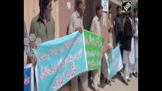 Protest held in Pakistan administered Kashmir over water shortage due to Neelum Jhelum power project