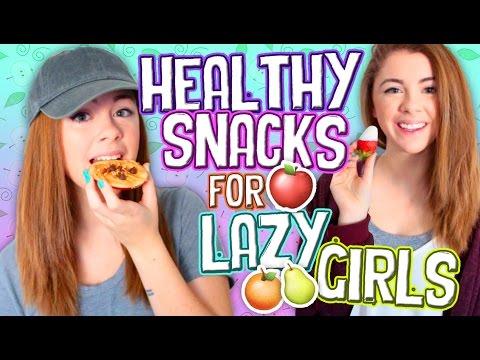 Easy Healthy Snack Ideas For Lazy Girls!!! // Jill Cimorelli