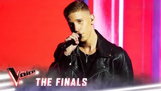 The Finals: Mitch Paulsen sings 'Bad Guy'   The Voice Australia 2019