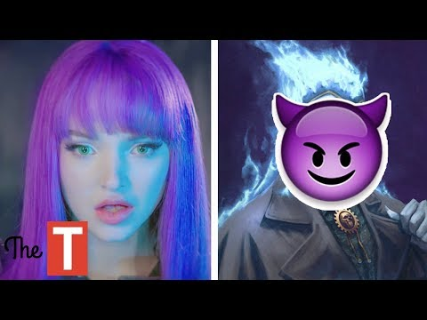 Descendants 3: Who is Mal's Father?