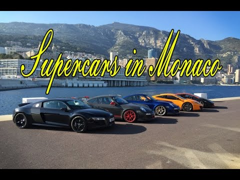 Best of Supercars in Monaco
