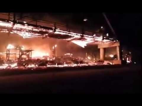 Full throttle saloon burns to ground 9 8 2015 youtube