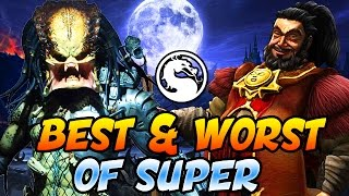 Mortal Kombat X: Epic Fails & Sick Combos! THE BEST AND WORST OF SUPER #7 (Mortal Kombat XL Montage)