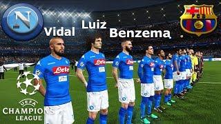 Napoli vs Barcellona - Champions League