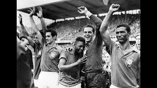 Il Brasile di Pelè e la vittoria del primo mondiale|  1958 Storia dei mondiali