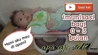 Imunisasi Bayi | Imunisasi Hepatitis B | Polio | BCG | Hib | DPT | PCV | Rotavirus
