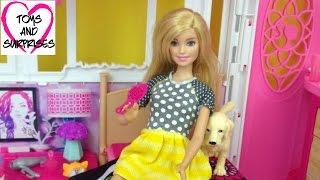 Куклы Барби Мультик  для девочек Видео с куклой Барби Дом для кукол  Игрушки для Девочек(Мультик Барби Домик для кукол с мебелью играем с куклами распаковка Игрушки для Девочек. Видео с куклами...., 2015-12-26T07:00:00.000Z)