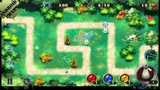 Легендарная битва- Сила стихий обзор игры для Android