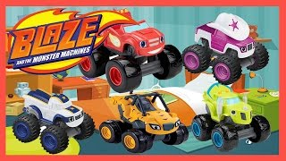 Blaze and the monster machines color episode stripes zeg for Blaze e le mega macchine youtube