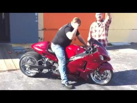 Tire For Less >> badass custom hayabusa, 300 tire, nitrous, air ride