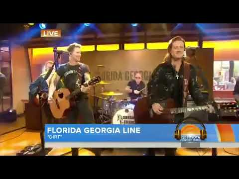 Florida Georgia Line - Dirt (Live On Today Show)
