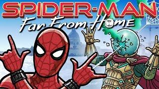 Человек-паук: Вдали от дома Трейлер TOON SANDWICH
