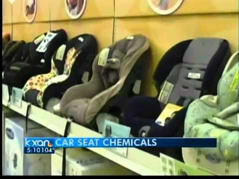 Hazardous chemicals found in car seats