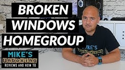 Homegroup FIX Windows 10 Repair Your Home Network
