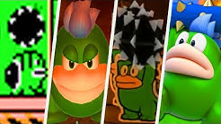 Evolution of Spike in Super Mario Games (1988 - 2017)