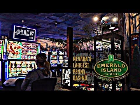 Nevada's Largest Penny Casino!  Emerald Island Casino!