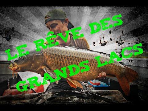 Pêche en bateau, le rêve des grands lacs !!!