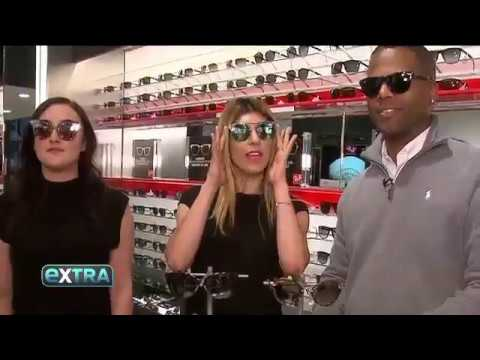 Check Out My Segment With Sunglass Hut On Extra!
