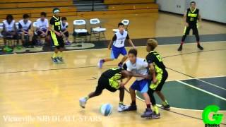 Victorville NJB D1 ALL-STARS VS WALNUT 2016 Basketball