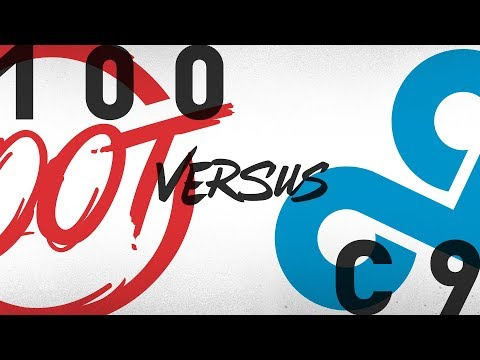 100 vs. C9 - Week 9 Day 1 | NA LCS Summer Split | 100 Thieves vs. Cloud9 (2018)