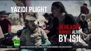 Hunted by ISIS: Yazidi women sold as sex slaves, children forced to be soldiers